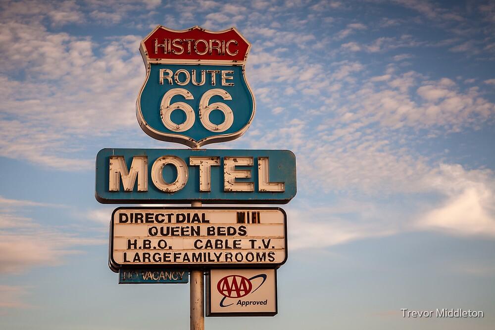 66 Motel by Trevor Middleton
