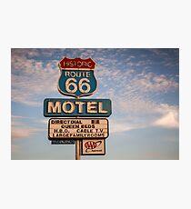 66 Motel Photographic Print