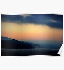 Mystical Sunrise at Catalina Island Poster