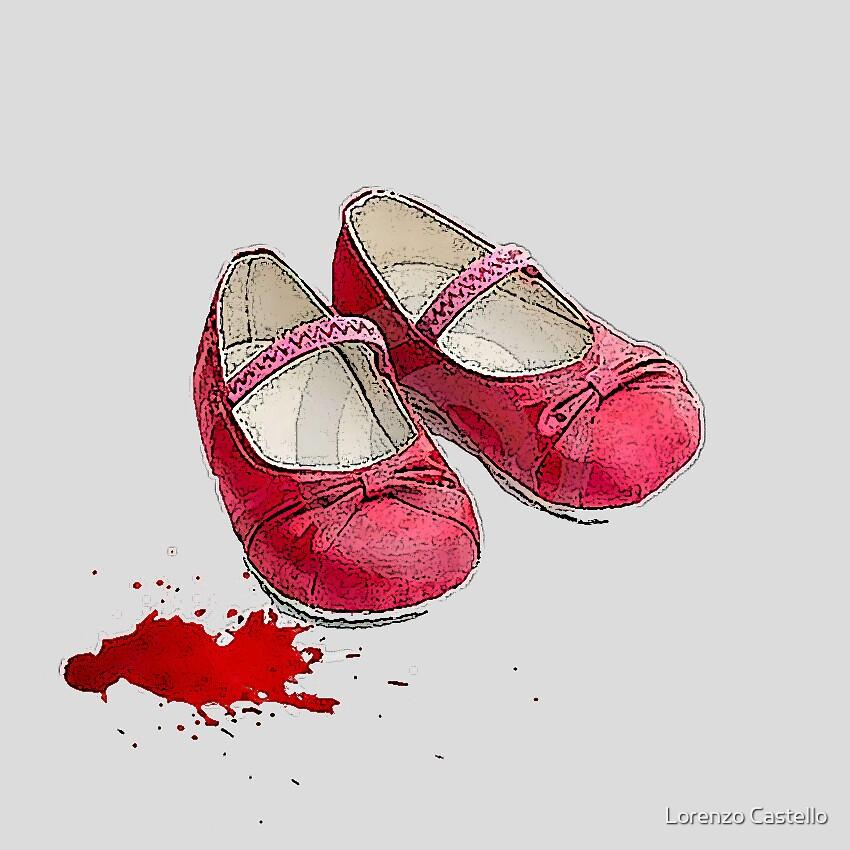 Zapatos rojos by Lorenzo Castello