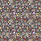 bright abstract pattern by Tanor