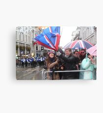 New Year's Day Parade  London 2014 Canvas Print