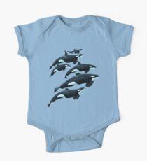 San Antonio Orcas Baby Body Kurzarm