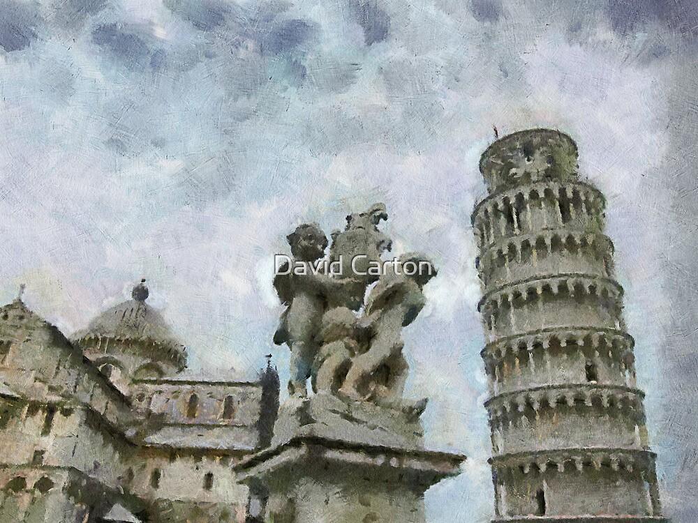 Piazza dei Miracoli, Pisa, Tuscany, Italy by David Carton