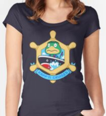 KAPP'N CRUISES Women's Fitted Scoop T-Shirt