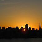 San Francisco sunset by tabusoro