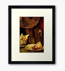 Tea time :) Framed Print