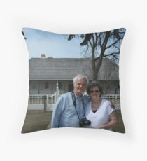 Larry Trupp and Myself Throw Pillow