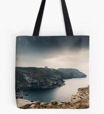 Coastline near Tintagel (September) Tote Bag