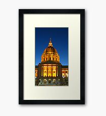 San Francisco City Hall Framed Print