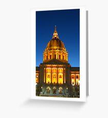 San Francisco City Hall Greeting Card