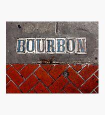 Bourbon Street Photographic Print