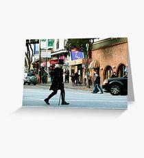 On the Crosswalk Greeting Card