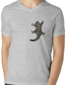 Sugar Glider Clinger Mens V-Neck T-Shirt