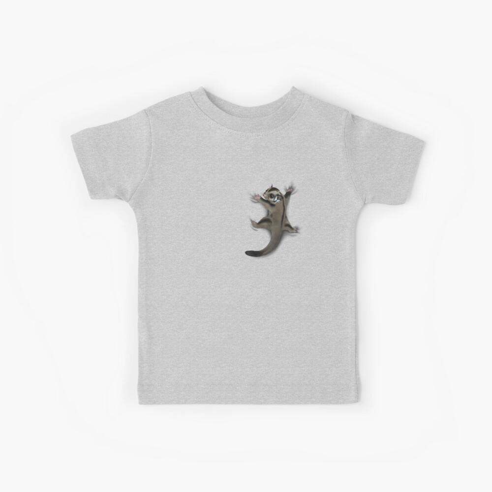 Sugar Glider Clinger Kids T-Shirt