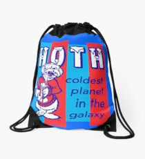 HOTH: COLDEST IN THE GALAXY Drawstring Bag