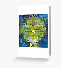 Flower Of Life Be Patient Pleasant and Open.jpg Greeting Card