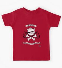 Kwazii Pirate Skull Kids Tee