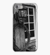 Lantern holder iPhone Case/Skin