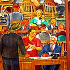 Stock Brokers by Joseph  Coulombe