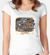 The Ribbit Women's Fitted Scoop T-Shirt