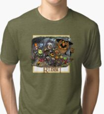 The Ribbit Tri-blend T-Shirt
