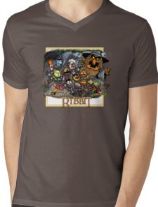 The Ribbit Mens V-Neck T-Shirt