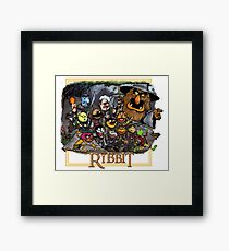 The Ribbit Framed Print