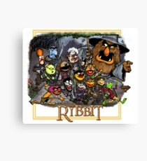 The Ribbit Canvas Print