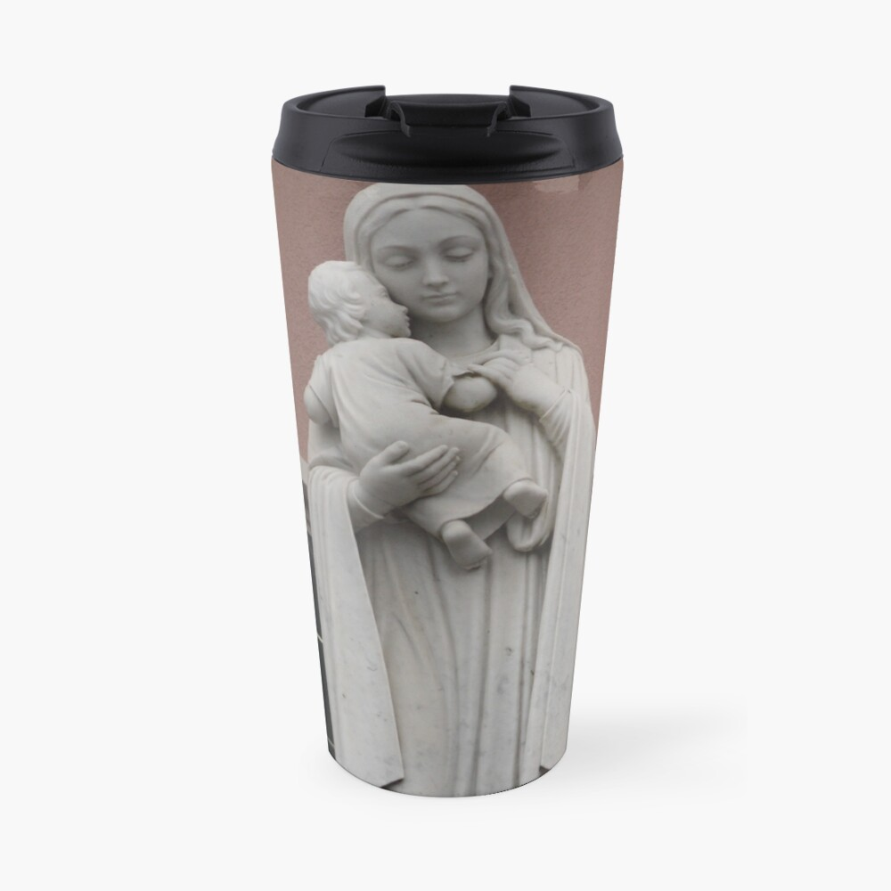 the virgin mary Travel Mug