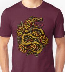 Traditional Snake Tattoo Design Unisex T-Shirt