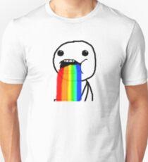 Puking Rainbow Unisex T-Shirt