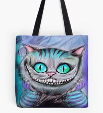 Cheshire Cat from Alice in Wonderland  Tote Bag