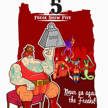 Freak Show Five - Pack Of Heroes by JohnDC