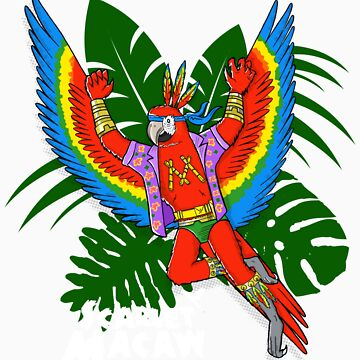 Scarlet Macaw - Pack Of Hereos by JohnDC