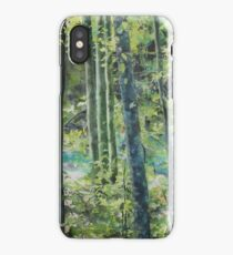 Trees of Riverbanks iPhone Case/Skin
