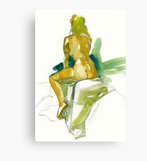 Blond Ambition Canvas Print