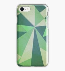 Blitzed Green iPhone Case/Skin