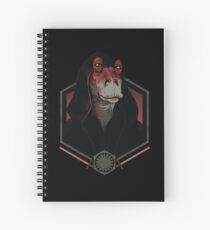 Darth Darth Binks Spiral Notebook
