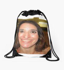 self portraiture Drawstring Bag