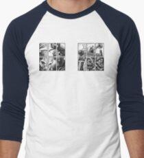Knock, knock. Men's Baseball ¾ T-Shirt