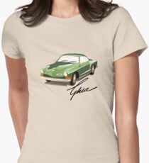 Camiseta entallada para mujer El Karmann Ghia