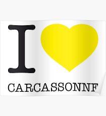 I ♥ CARCASSONNE Poster