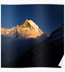 Machhupuchhare, Annapurna Conservation Area, Nepal. Poster