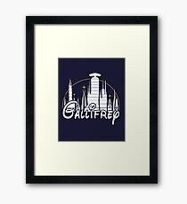 Gallifrey [Dr. Who] Framed Print