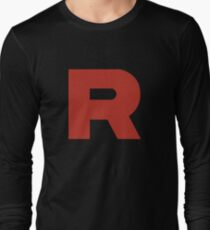 Team Rocket Shirt Long Sleeve T-Shirt
