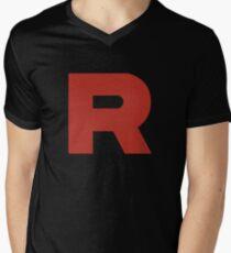 Team Rocket Shirt Men's V-Neck T-Shirt