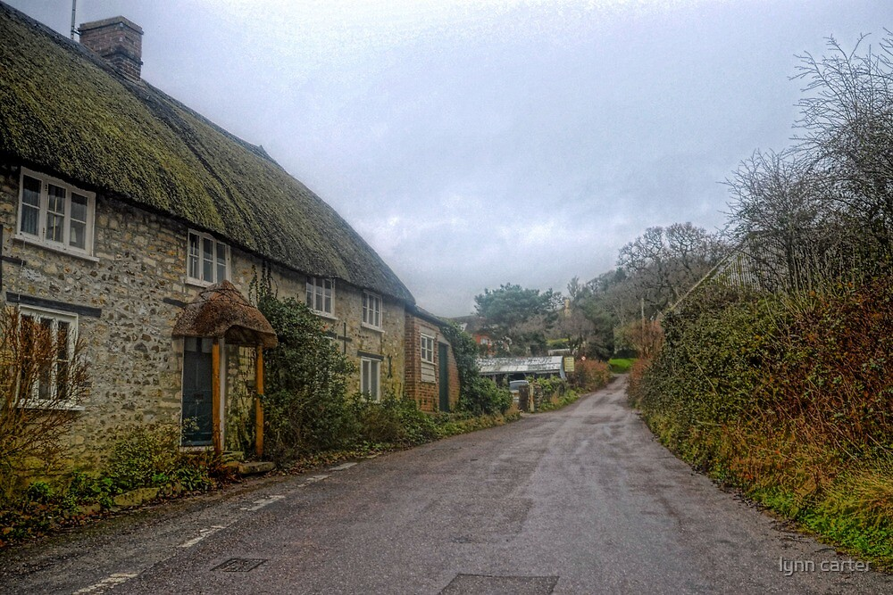 Country Rd  Uplyme Devon UK by lynn carter