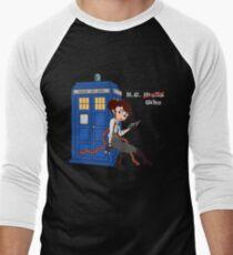 H.G. Who - grey text T-Shirt