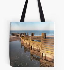 Norfolk groyne Tote Bag